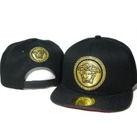 Versace Women Men Embroidery Sports Sun Hat Baseball Cap Hat-2