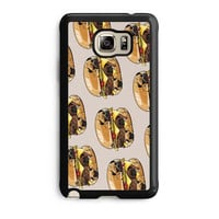 pugs burger case for samsung galaxy note 5 note edge