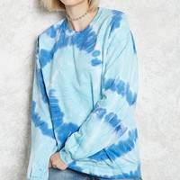 Tie-Dye Fleece Sweatshirt