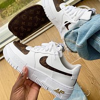 Nike LV Air Force 1 Low rise casual skateboarding shoes