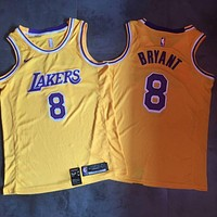 2018-19 LA Lakers #8 Kobe Bryant Swingman Jersey
