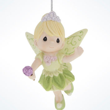 Disney Precious Moments Tinkerbell Porcelain Christmas Ornament New with Tags