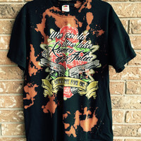 The Red Jumpsuit Apparatus, bleached t shirt, heavy  Metal grunge shirt, Romeo And Juliet size large