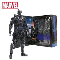 27cm Black Panther Figure Marvel Universe Variant Playarts PVC Action Figures Collectible Model Toy Marvel Toys the Avengers
