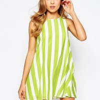 Love Swing Dress in Stripe