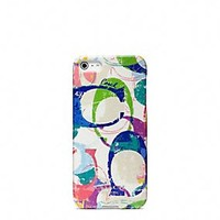 POPPY STAMPED C IPHONE 5 CASE