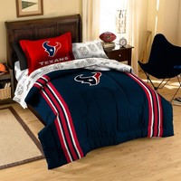 Houston Texans NFL Bed in a Bag (Contrast Series)(Twin)