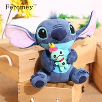 Kawaii Stitch Plush Doll Toys Anime Lilo And Stitch Stuffed Doll Cute Stich Plush Toys Children Kids Birthday Gift