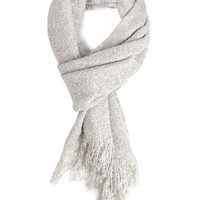 FOREVER 21 Fuzzy Woven Oblong Scarf