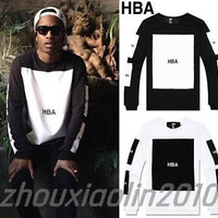Hoody By Air HOT HBA Graphic T-shirt pyrex X Been Trill tee Kanye West Hip-Hop