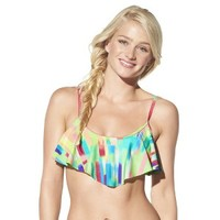 Xhilaration® Junior's Mix and Match Hanky Swim Top -Candy Cloud