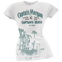 Captain Morgan - Captain's Beach Las Vegas Juniors T-Shirt