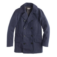 J.Crew Mens Wallace & Barnes Dock Peacoat