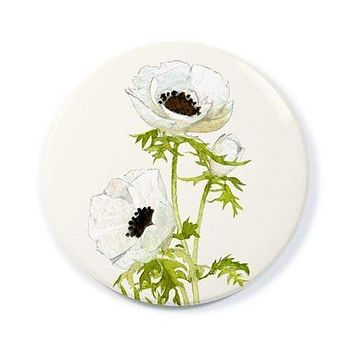 Anemone Blossoms Pocket Mirror