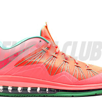 """air max lebron 10 low """"watermelon"""" - brght mng/brght mng-gmm grn-ls - Lebron James - Nike Basketball - Nike 