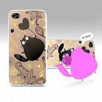 [$4.46] Cute Mickey Mirror Style Back Case Cover for iPhone 4 4S