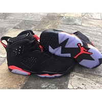 Air Jordan 6 Retro 3M Black Red Sneaker 36-47