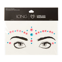 The Love and Madness Pink and Turquoise Bindi Eye Crystals