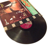 OCTOBER SALE Vinyl Record Music From The Five Pennies Soundtrack with Danny Kaye and Louis Armstrong LP Album