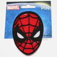 """Licensed cool NEW Marvel The Amazing SPIDER-MAN 2 SPIDERMAN Pinback Pin 3 1/2"""" H x 2 5/16"""" W"""