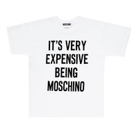 Moschino It's Very Expensive Being Moschino Tee - WOMEN - JUST IN - Moschino - OPENING CEREMONY