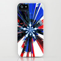 USA Tech Flag iPhone & iPod Case by Emiliano Morciano (Ateyo)