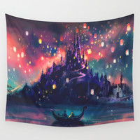 The Lights Wall Tapestry by Alice X. Zhang