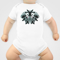 Never Look Back (black) Baby Clothes by Gigglebox