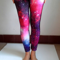 2015 NEW Red Galacy Leggings, Womens Tights , Elastic Women Leggings , Yoga Leggings, Yoga Pants