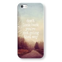 dont look back iPhone & iPod case by Sylvia   Casetagram