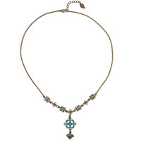 BOHEME Turquoise Headpiece or Necklace [whlsl]
