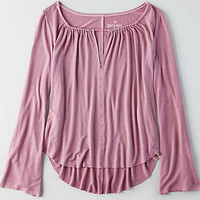 AEO Soft & Sexy Bell Sleeve T-Shirt, Orchid Bouquet