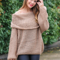 Dreamy Sweater - Taupe