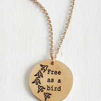 Critters Unfettered Abundance Necklace by ModCloth