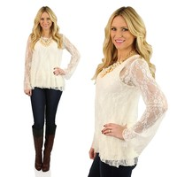 The Finest Lace Top