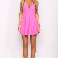 HelloMolly | All About Us Dress Hot Pink - Dresses