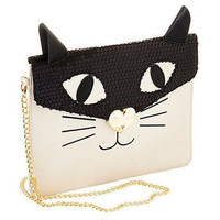 Betsey Johnson Cray Cray Creature Chain Crossbody/ Clutch