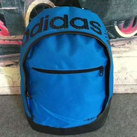 Adidas Women Leisure sports backpack Outdoor travel bag blue H-PSXY