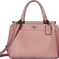COACH Womens Drifter Satchel in Polished Pebble Leather