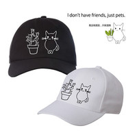 KOKO just pets embroidery baseball cap from Kokopie