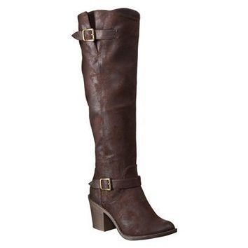 Womens Mossimo Supply Co. Kayanna Riding Boots - Brown