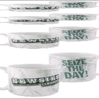 Newsies the Broadway Musical - Seize the Day Logo Coffee Mug