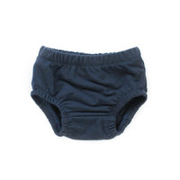 French Terry Baby Bloomers in Navy