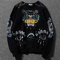 Kenzo Women or Men Fashion Casual Loose Top Sweater