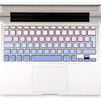 Laptop Decal Purple Pink Keyboard Decal Macbook keyboard Skin Macbook Decal Keyboard Sticker Macbok Air Pro Retina Decal Purple Pink Ombre