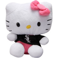 Chicago White Sox 8'' Hello Kitty Plush Toy - http://www.shareasale.com/m-pr.cfm?merchantID=7124&userID=1042934&productID=540318899 / Chicago White Sox
