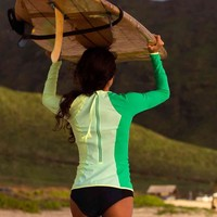 board balance rash guard | women's swimwear | lululemon athletica