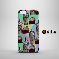 STARBUCKS  PIE LOVE Design Custom Case by ditto! for iPhone 6 6 Plus iPhone 5 5s 5c iPhone 4 4s Samsung Galaxy s3 s4 & s5 and Note 2 3 4