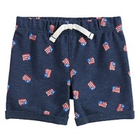 Baby Boy Jumping Beans® Flag Knit Shorts | null