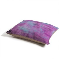 Allyson Johnson Purple Paint Pet Bed